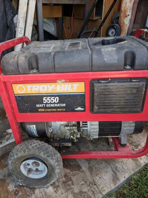 Troybuilt 5500 Generator for Sale in US