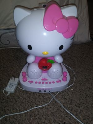 Hello kitty kareoke/CD and bluetooth for Sale in Santee, CA