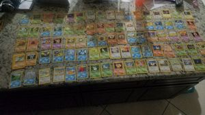 Pokemon lot (87 cards) orinigal collection base set, fossil set, jungle set. for Sale in Temecula, CA