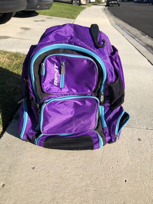 Rip-It Backpack - Softball Equipment Bag - Purple for Sale in Laguna Beach, CA