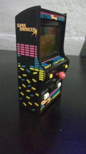 Atari super breakout mini arcade game for Sale in Phoenix, AZ
