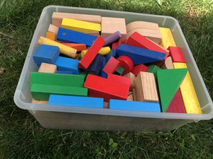 Wooden blocks for Sale in Alexandria, VA