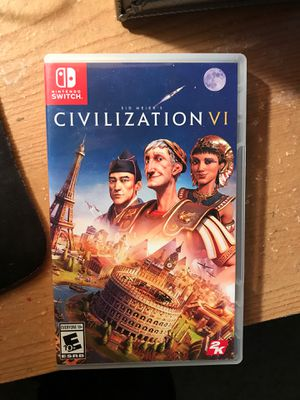 Civilization 6 Switch for Sale in Sacramento, CA