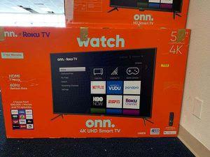 Brand New ONN ROKU 4K Smart TV! Open box w/ warranty V 6G9 for Sale in Los Angeles, CA