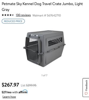 700 Series Pet crate for Sale in Savannah, GA