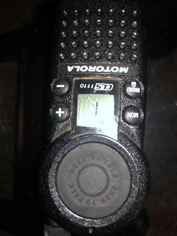Motorola professional walkie talkie