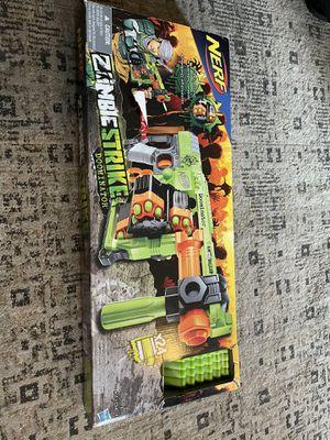 Zombie strike nerf gun and bullets for Sale in Philadelphia, PA