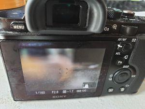Sony a7s mark 1 (body) canon adapter included for Sale in Atlanta, GA