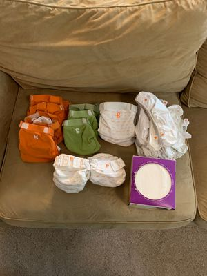 Newborn/Small G Baby diapers for Sale in Arlington, WA