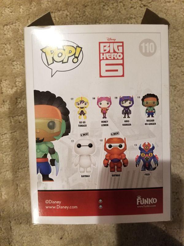 Big Hero 6 Wasabi Pop figure