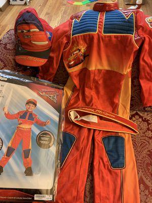 Disney Pixar Cars Lightning McQueen Deluxe Toddler Costume for Sale in Lake Villa, IL