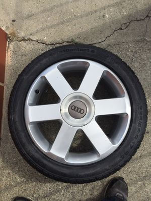 "17"" Wheel / Rim Audi/VW 235/45 r17 Continental Tire for Sale in Los Angeles, CA"