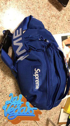 Supreme ss18 Royal Blue Waist Bag for Sale in Las Vegas, NV