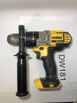 """Dewalt 1/2"""" Hammer Drill DCD985 for Sale in San Diego, CA"""