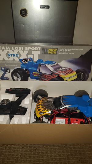 Team losi sport XXX-T RTR 2 (2 battery packs and charger) for Sale in Orange, CA