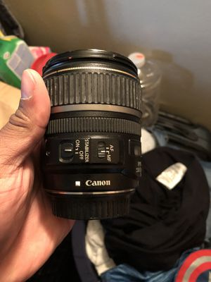 Canon lens for Sale in New York, NY