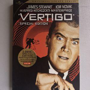 (LIKE NEW) (1958) VERTIGO DIGIPACK SPECIAL EDITION DVD (OUT OF PRINT) for Sale in Long Beach, CA