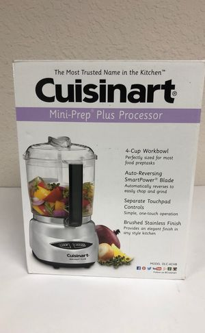 Cuisinart DLC-4CHB Mini-Prep Plus 4-Cup Food Processor for Sale in Simi Valley, CA