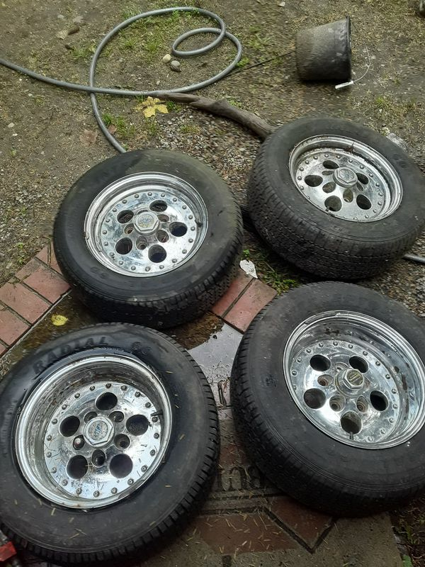 Old school cragor 14 inch rims