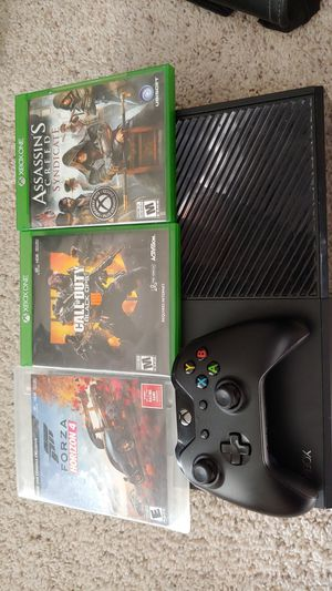 Xbox one controller 3 games-price Firm for Sale in Chandler, AZ