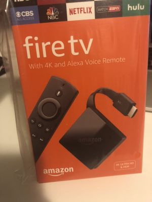 Amazon TV 4K with Alexa for Sale in Hyattsville, MD