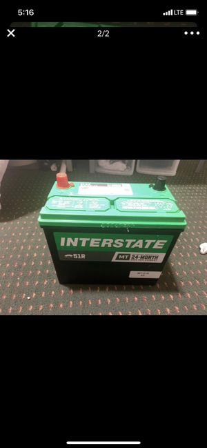 Interstate Battery (Honda Battery) for Sale in Dallas, TX