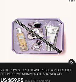 Victoria Secret Tease Rebel Gift Set for Sale in Chapel Hill,  TN