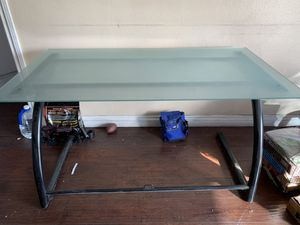3 Glass desk for sale for Sale in Downey, CA