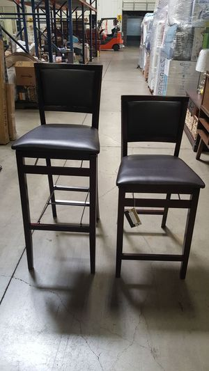 Folding bar stool and counter stool. for Sale in Dallas, TX