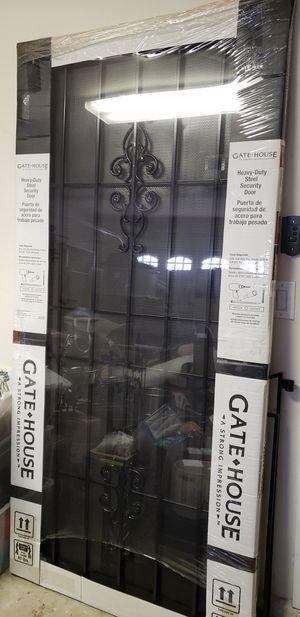 "Gatehouse 36""x 81""Steel Security Door (Actual 39"" x 81.75"") for Sale in Las Vegas, NV"