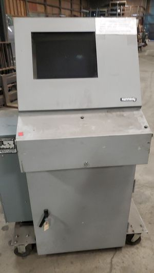 Kennedy locking computer cabinet with monitor for Sale in Kent, WA