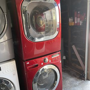 Washer and dryer LG Front Load Gas dryer with 3 months warranty free Delivery installation<<<hablo español for Sale in San Leandro, CA