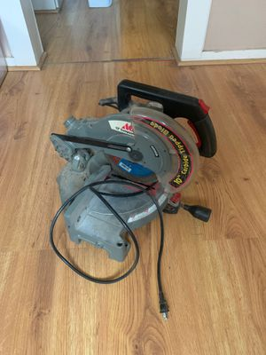 10 inch compound miter saw for Sale in Kermit, TX