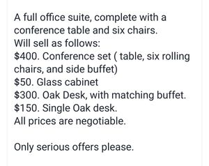 Office furniture for Sale in Santee, CA
