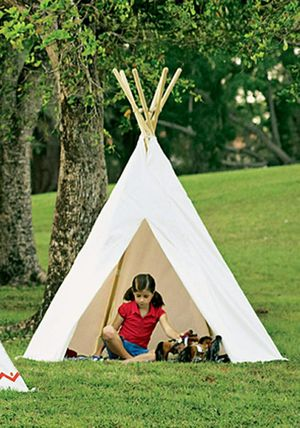 New in box 5.5 ft Kids Cotton play house Canvas Teepee Playhouse Sleeping Dome Play Tipi Tent for Sale in Whittier, CA