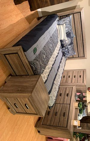 $39 Down Payment 《 Best OFFER》Farrow Grayish Brown Youth Bedroom Set 799 for Sale in Jessup, MD