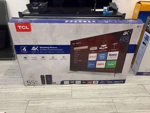 """55"""" TCL Roku TV LED HDR for Sale in La Mirada, CA"""