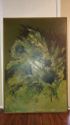 Signature Carlo abstract original painting for Sale in Phoenix, AZ