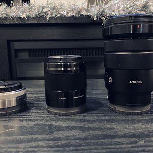 Sony Lens for Sale in Baldwin Park, CA