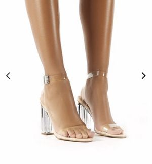 Public desire clear perspex heels for Sale in Tustin, CA