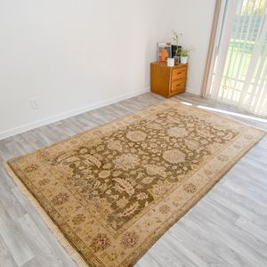 6x9 Hand knotted Turkish Oushak rug for Sale in Portland, OR