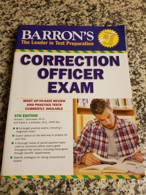 Corrections Officer Exam Study Guide for Sale in Phoenix, AZ