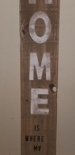 Vertical Wooden Porch Sign for Sale in Weston,  WV