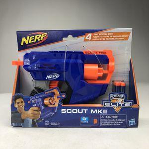 Nerf N-Strike Elite Scout MKII Rotating Drum Gun Brand New + 4 Elite Nerf Darts for Sale in Miami, FL
