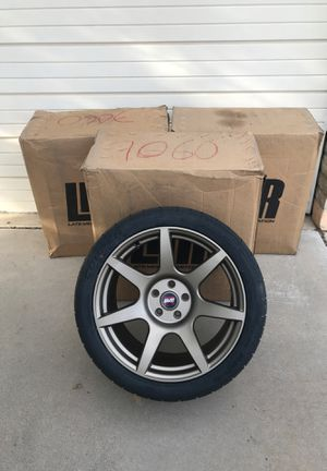 SVE/R 4 Custom Rims and tires-(2)325/30R19 and (2)285/35R19 NIB for Sale in Tempe, AZ