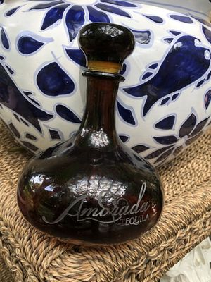 Tequila bottle Amorada Tequila Brown Reposado Bottle 750ml for Sale in Houston, TX