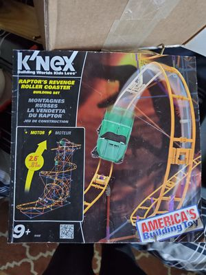 KNEX Roller Coaster Toy (All Parts Included) for Sale in Piney River, VA