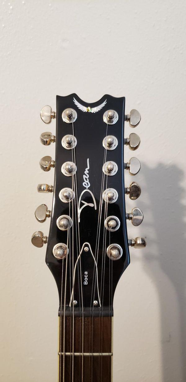 Dean Boca 12 String Electric Guitar