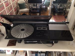 Bang & Olufsen Beocenter 2200 (AM/FM radio, cassette player and automatic turn table) comes with a pair of B&O Red Line 60 loudspeakers. All in good for Sale in Washington, DC