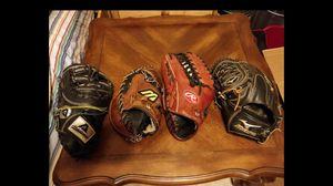 Left Handed Baseball Gloves for Sale in Tucson, AZ